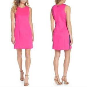 Lilly Pulitzer hot pink shift dress